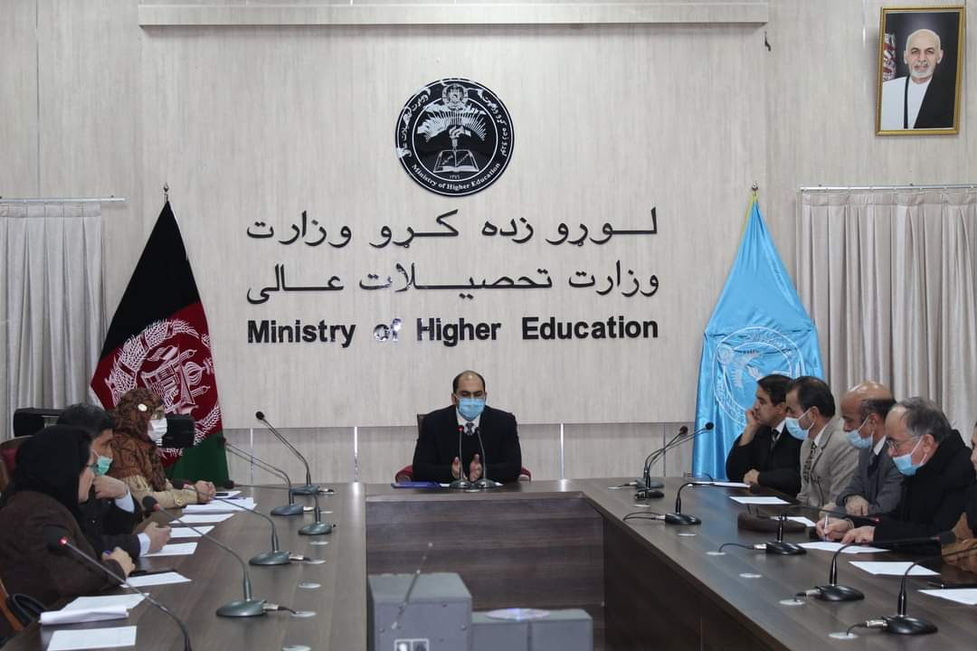 Granting the third stage accreditation document to Kabul Polytechnic University